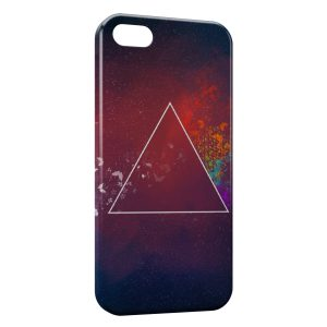 Coque iPhone 5/5S/SE Triangle Design 2
