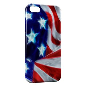Coque iPhone 5/5S/SE USA Drapeau
