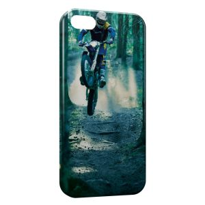 Coque iPhone 5/5S/SE VTT Foret