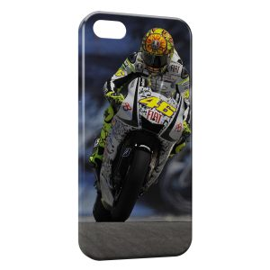 Coque iPhone 5/5S/SE Valentino Rossi 46 Moto Road Sport