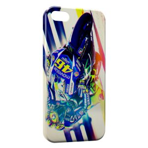 Coque iPhone 5/5S/SE Valentino Rossi Moto Graphic Art
