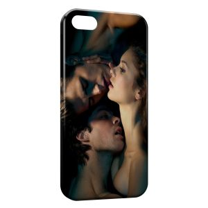 Coque iPhone 5/5S/SE Vampire diaries Nina Dobrev Paul Wesley Ian Somerhalder