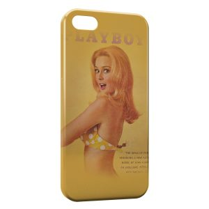Coque iPhone 5/5S/SE Vintage Pinup Yellow Style
