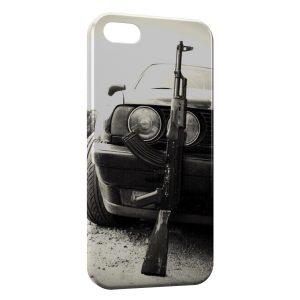 Coque iPhone 5/5S/SE Voiture & AK47
