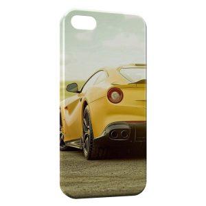 Coque iPhone 5/5S/SE Voiture de Luxe Jaune