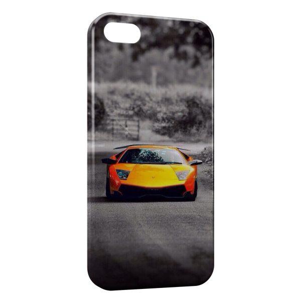 coque iphone 5 voiture de sport