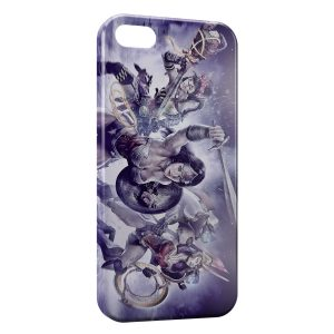 Coque iPhone 5/5S/SE Wonderwoman Art