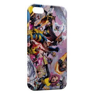 Coque iPhone 5/5S/SE X-Men Groupe