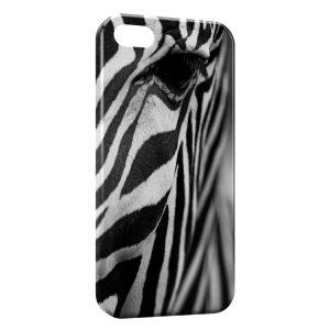 Coque iPhone 5/5S/SE Zèbre Black and White