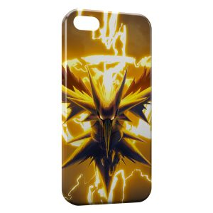Coque iPhone 5/5S/SE Zapdos Pokemon Oiseau 2