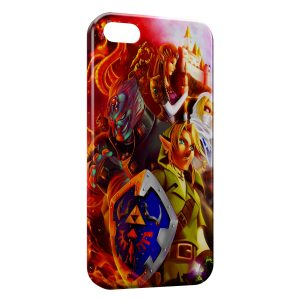 Coque iPhone 5/5S/SE Zelda Link Game
