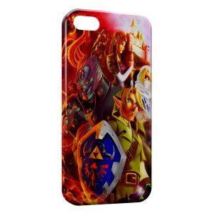 Coque iPhone 5/5S/SE Zelda Link Game