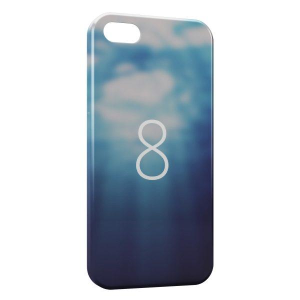 Coque iPhone 5C 8 Water Power