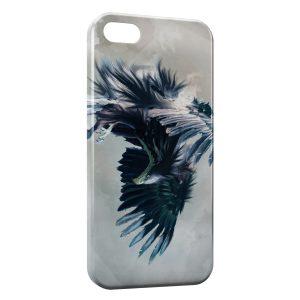 Coque iPhone 5C Aigle bleu