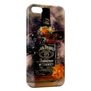Coque iPhone 5C Alcool Jack Daniel's Art
