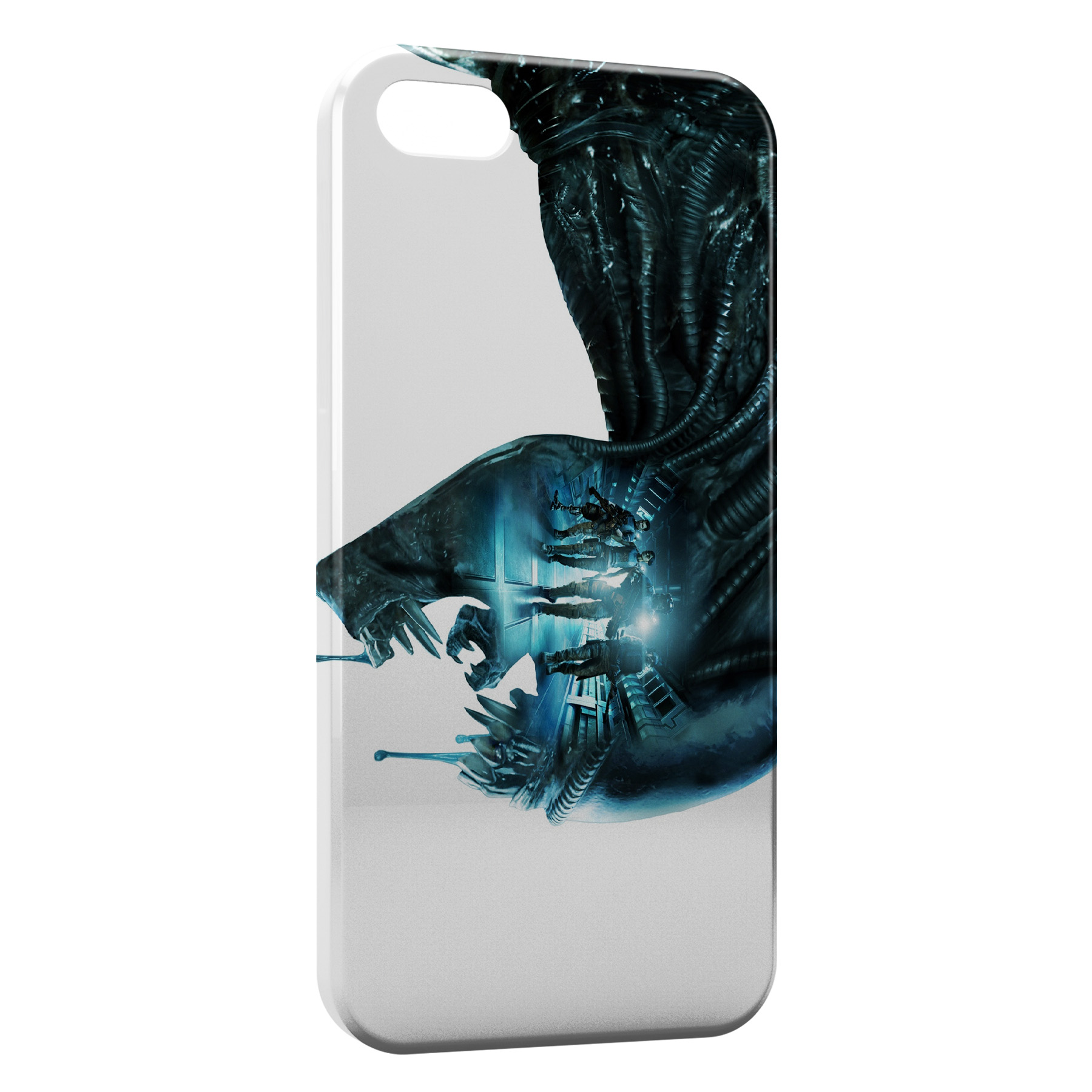 Coque iPhone 5C Aliens