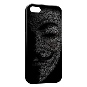 Coque iPhone 5C Anonymous 2