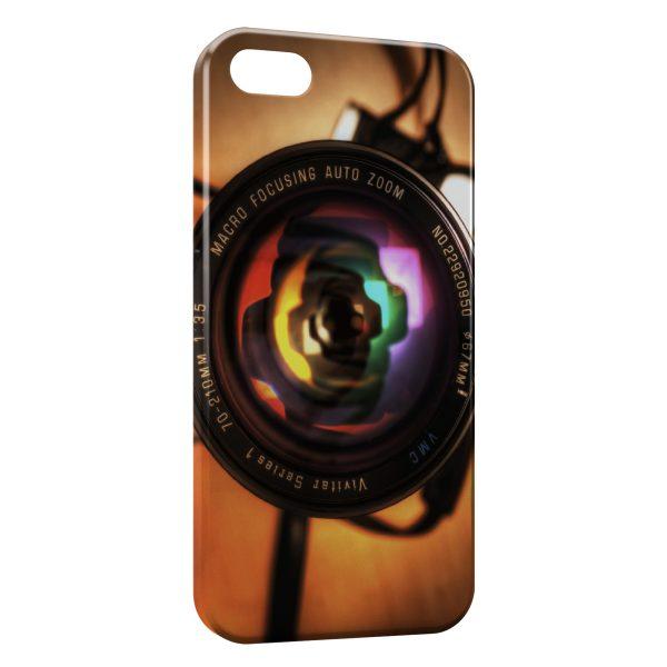 Coque iPhone 5C Appareil Photo Design Style