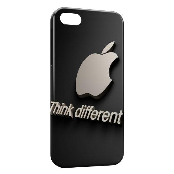 Coque iPhone 5C Apple Think different