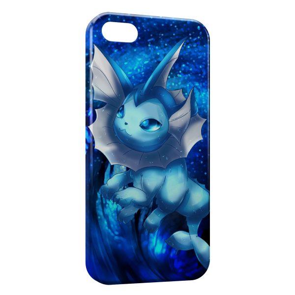 Coque iPhone 5C Aquali Evoli Pokemon Art 600x600