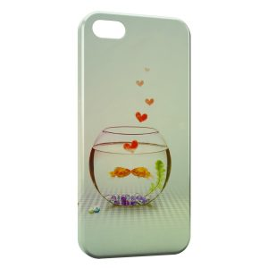 Coque iPhone 5C Aquarium Poissons