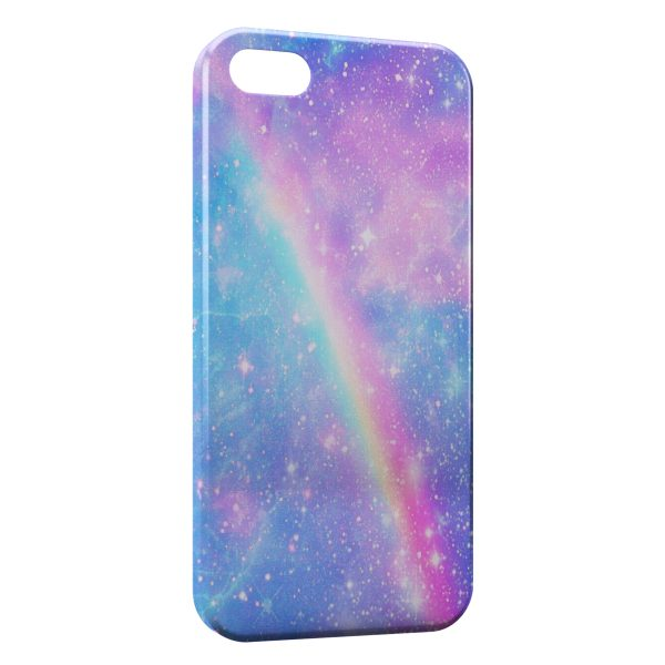 Coque iPhone 5C Arc En Ciel