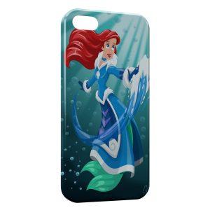 Coque iPhone 5C Ariel La Petite Sireine Art