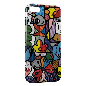Coque iPhone 5C Art Colors