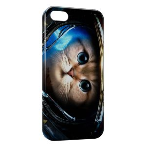 Coque iPhone 5C Astronaut Cat
