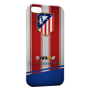 Coque iPhone 5C Atletico de Madrid Football
