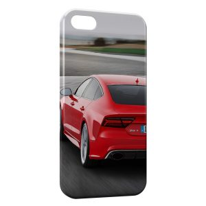 Coque iPhone 5C Audi Rouge 2