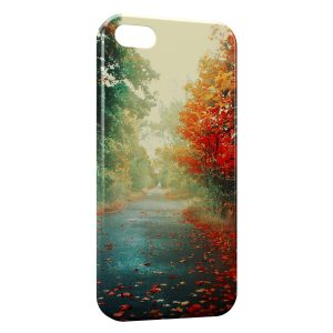 Coque iPhone 5C Automne Tree