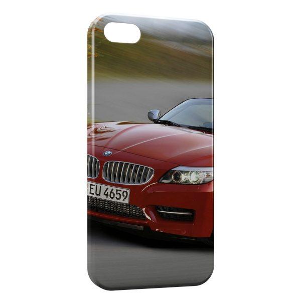 Coque iPhone 5C BMW Rouge 4 600x600