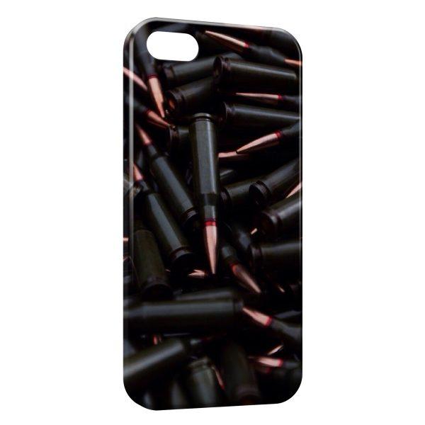 Coque iPhone 5C Balles Pistolet 2