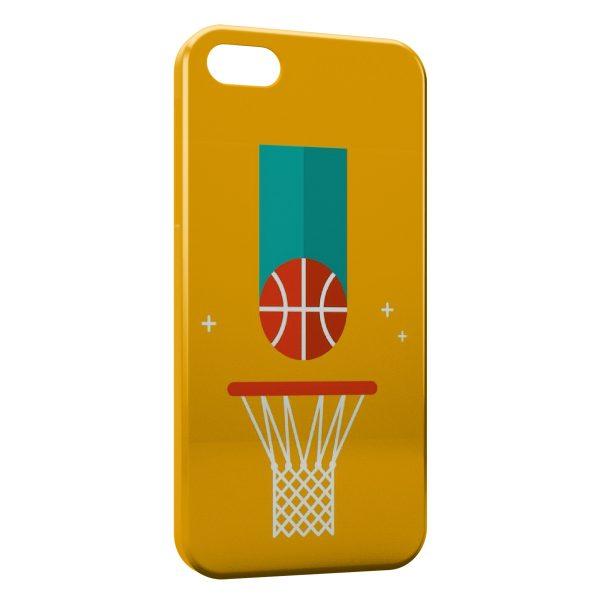 Coque iPhone 5C BasketBall Light