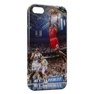 Coque iPhone 5C Basketball Dunk Bulls