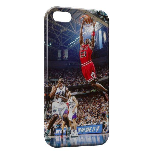 Coque iPhone 5C Basketball Dunk Bulls