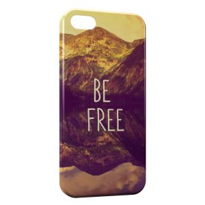 Coque iPhone 5C Be Free