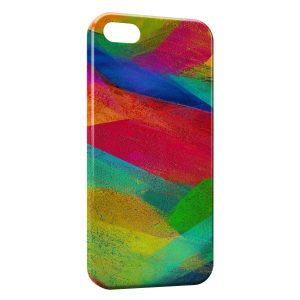 Coque iPhone 5C Beautiful Painted Art