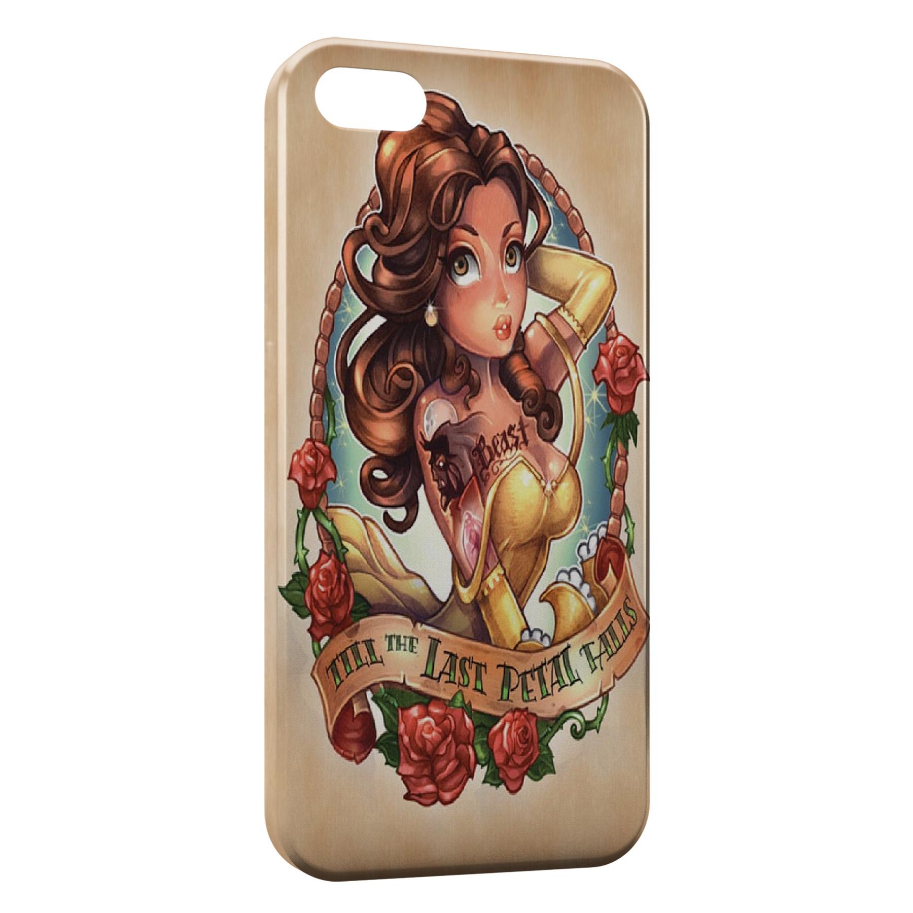 Coque iPhone 5C Belle et la Bete Punk