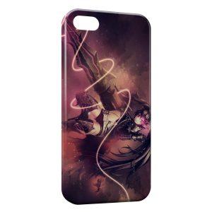 Coque iPhone 5C Black Rock Shooter 2