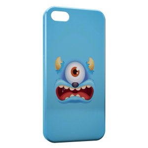 Coque iPhone 5C Blue Monster