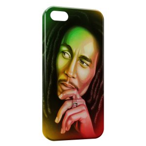 Coque iPhone 5C Bob Marley 2