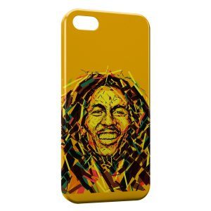 Coque iPhone 5C Bob Marley 5