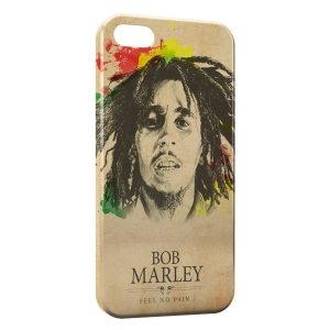 Coque iPhone 5C Bob Marley Feel No Pain