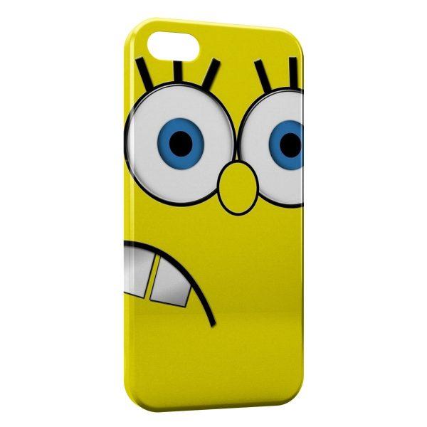Coque iPhone 5C Bob l'éponge 2