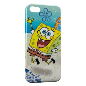 Coque iPhone 5C Bob l'éponge 3
