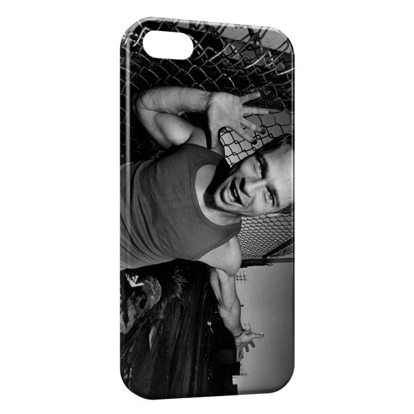 Coque iPhone 5C Brad Pitt Fight Club