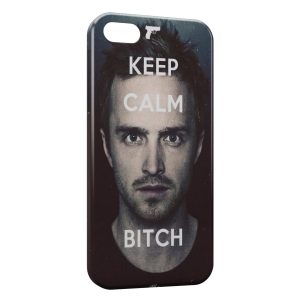 Coque iPhone 5C Breaking Bad Keep Calm Bitch