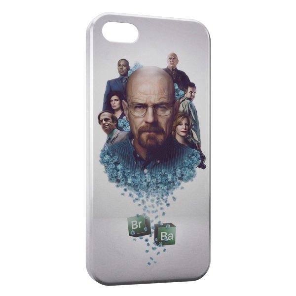 Coque iPhone 5C Breaking Bad Walter White Heisenberg 7
